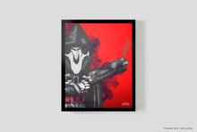 "Load image into Gallery viewer, So Indifferent Reaper  | 8.5"" x 11""  Graphic Print"