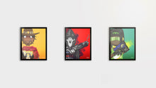 "Load image into Gallery viewer, So Indifferent Overwatch Collection |  3 x 8.5"" x 11""  Graphic Prints"