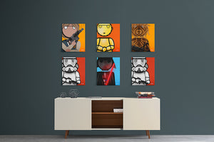 "So Indifferent - Star Wars Collection - 8.5"" x 11"" Graphic Prints"