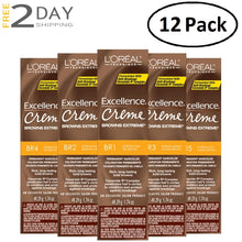 Load image into Gallery viewer, 12 Pack L'OREAL Excellence Creme Browns Extreme Permanent Hair Color