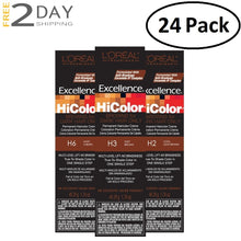 Load image into Gallery viewer, 24 Pack L'OREAL Excellence HiColor Permanent Hair Color Creme