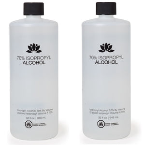 Package of 2 Marianna 70% Isopropyl Alcohol 32 fl oz 2 x HP-50006 FREE 2 DAY SHIPPING
