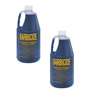 Package of 2 BARBICIDE Disinfectant Concentrated Liquid 64 oz 2 x SJ-56421