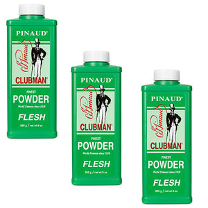 Package of 3 CLUBMAN PINAUD Powder Flesh 3 x BB-276500 FREE 2 DAY SHIPPING