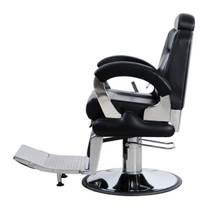 FURY Reclining Barber Chair BC-2CBLK
