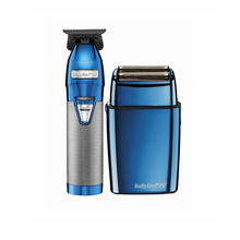 Load image into Gallery viewer, Babyliss PRO Blue FX Collection Trimmer & Shaver CL-FXHOLPK2BC FREE 2 DAY SHIPPING