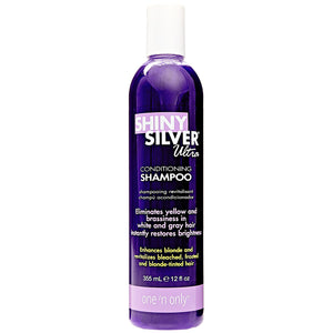 SHINY SILVER Ultra Conditioning Blonde Enhancement Purple Shampoo