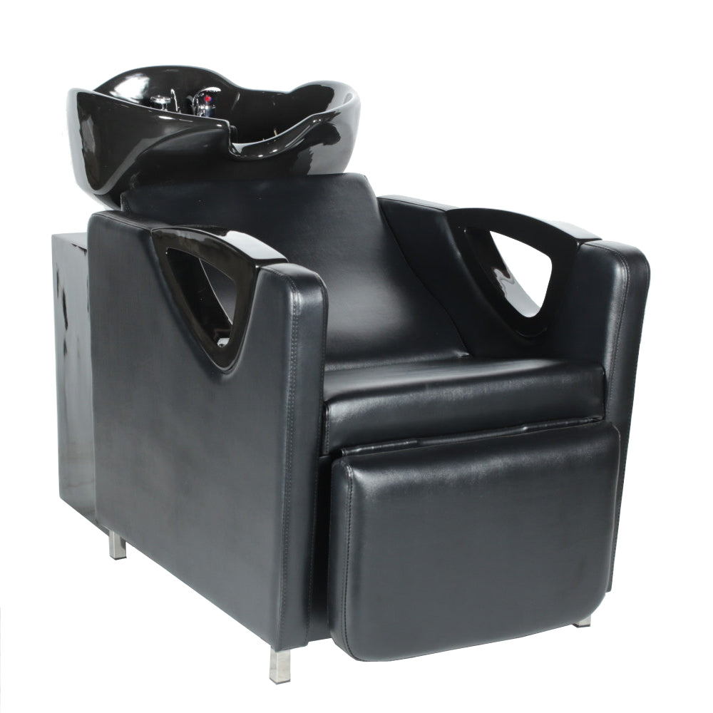 AADEN Euro Design Shampoo Backwash Unit SU-85A-BLK