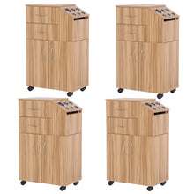 Load image into Gallery viewer, Package of 4 BAYLOR Salon Wood Trolley 4 x TR-07P