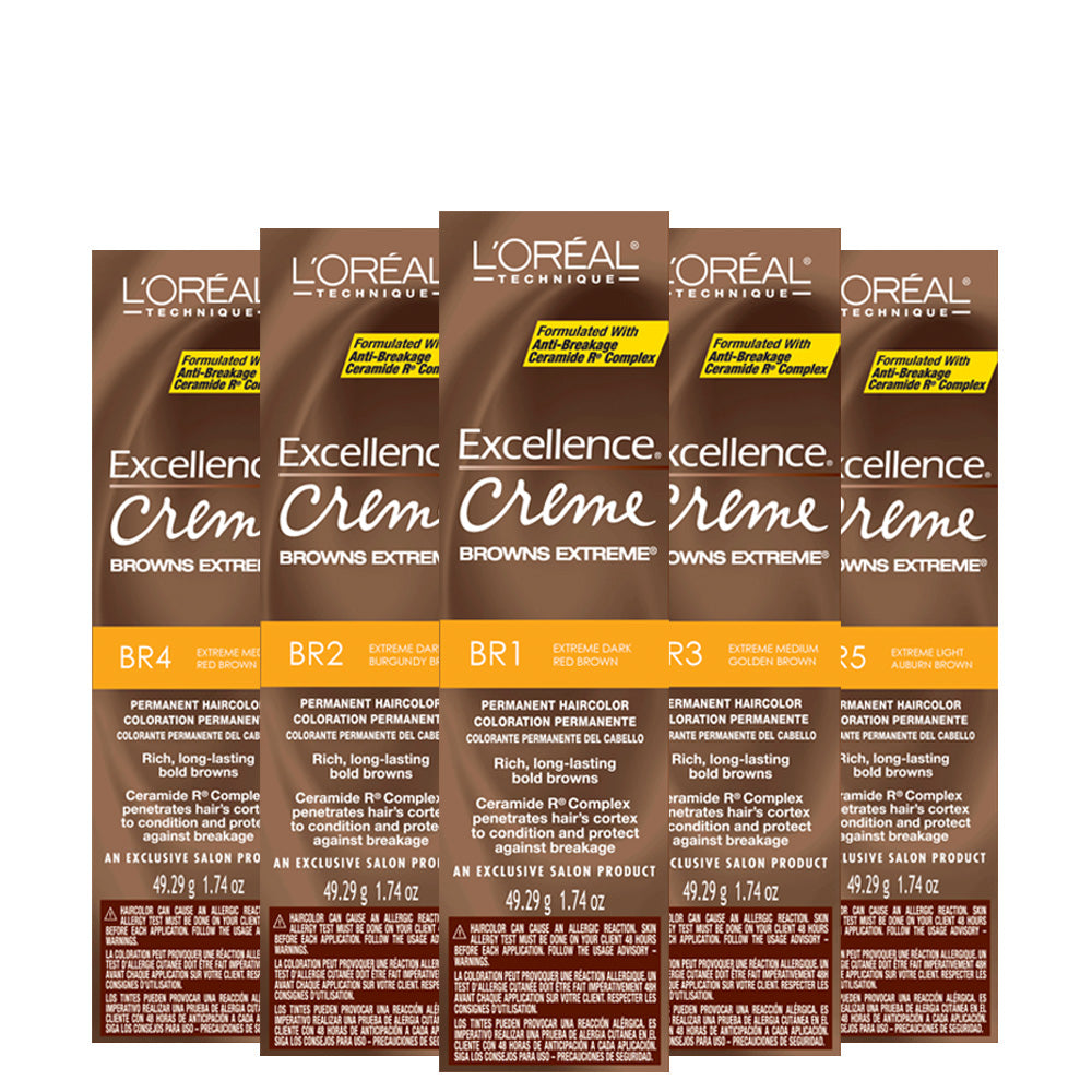 L'OREAL Excellence Creme Browns Extreme Permanent Hair Color