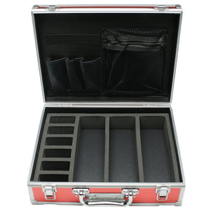 Small Mastercase Collection Red Barber Case BB-VT10143-RD