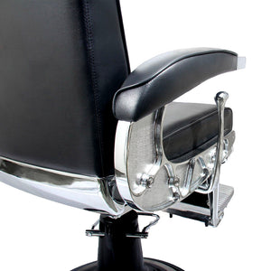 GHOST Professional Reclining Barber Chair BC-22BLK