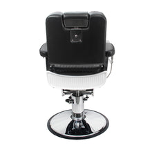 Load image into Gallery viewer, LUNIZ Professional Reclining Barber Chair with Flushed Headrest BC-31BLK