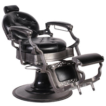 Load image into Gallery viewer, ROYALE Premium Reclining Barber Chair BC-50BLK