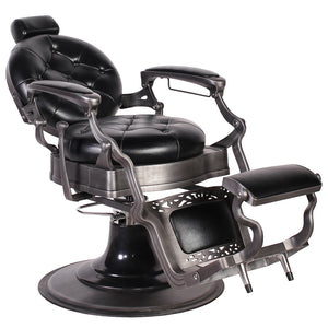 ROYALE Premium Reclining Barber Chair BC-50BLK