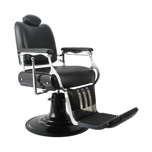PHANTOM Professional Reclining Barber Chair BC-60BLK