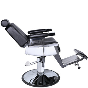 Package of 4LEXUS Reclining Barber Chair 4 x BC-71BLK