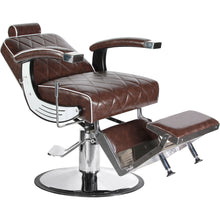 Load image into Gallery viewer, G6 Reclining Barber Chair BC-88BR