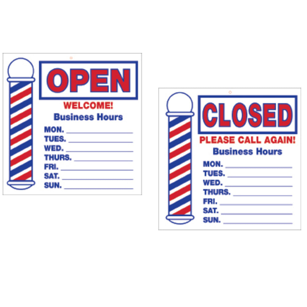 SCALPMASTER Open/ Closed Sign BK-SC-9016