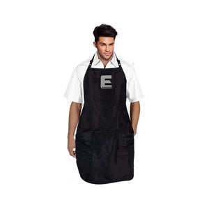 Elegance Professional Barber Men Salon Black Apron CA-553BLK