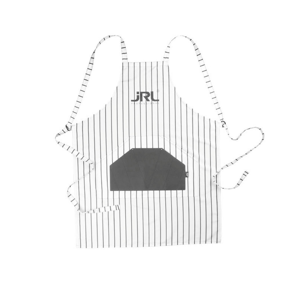 JRL Professional Striped Barber Classic White Apron CA-JRL20900