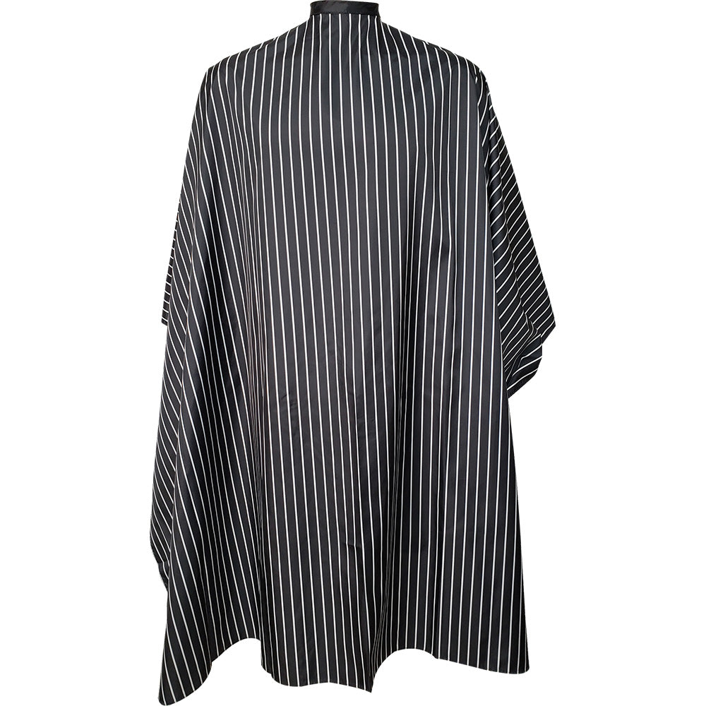 Vincent Striped Cutting Cape Snap Close CA-VT2431