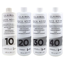 Load image into Gallery viewer, Clairol Pure White DEVELOPER 16oz Assorted Volumes
