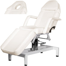 Load image into Gallery viewer, PARKER Hydraulic Facial Bed with Stool and Adjustable Head Rest FB-53BE