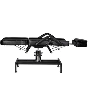 PARKER Hydraulic Facial Bed with Stool and Adjustable Head Rest FB-53BLK