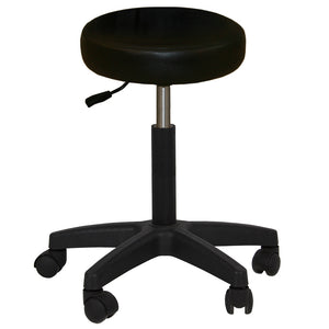 KOOPER Facial Bed with Stool and Adjustable Head Rest FB-40BLK