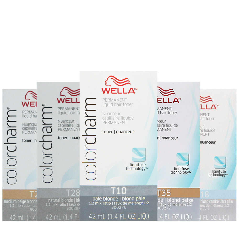 WELLA Color Charm Permanent Liquid Hair Toner