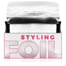 Load image into Gallery viewer, STYLETEK Styling Foil 5 x 10 500 Prefolded Sheets HC-06115-500