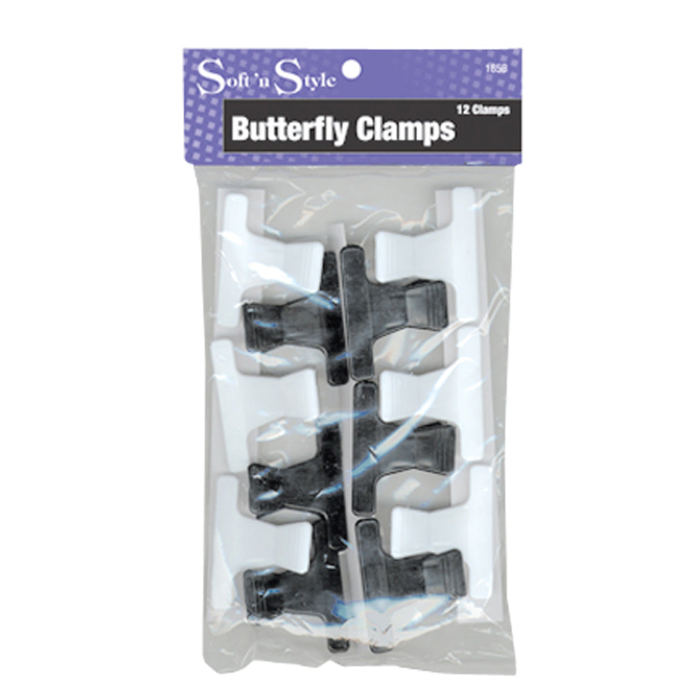 SOFT 'N STYLE Butterfly Clamps HC-185B