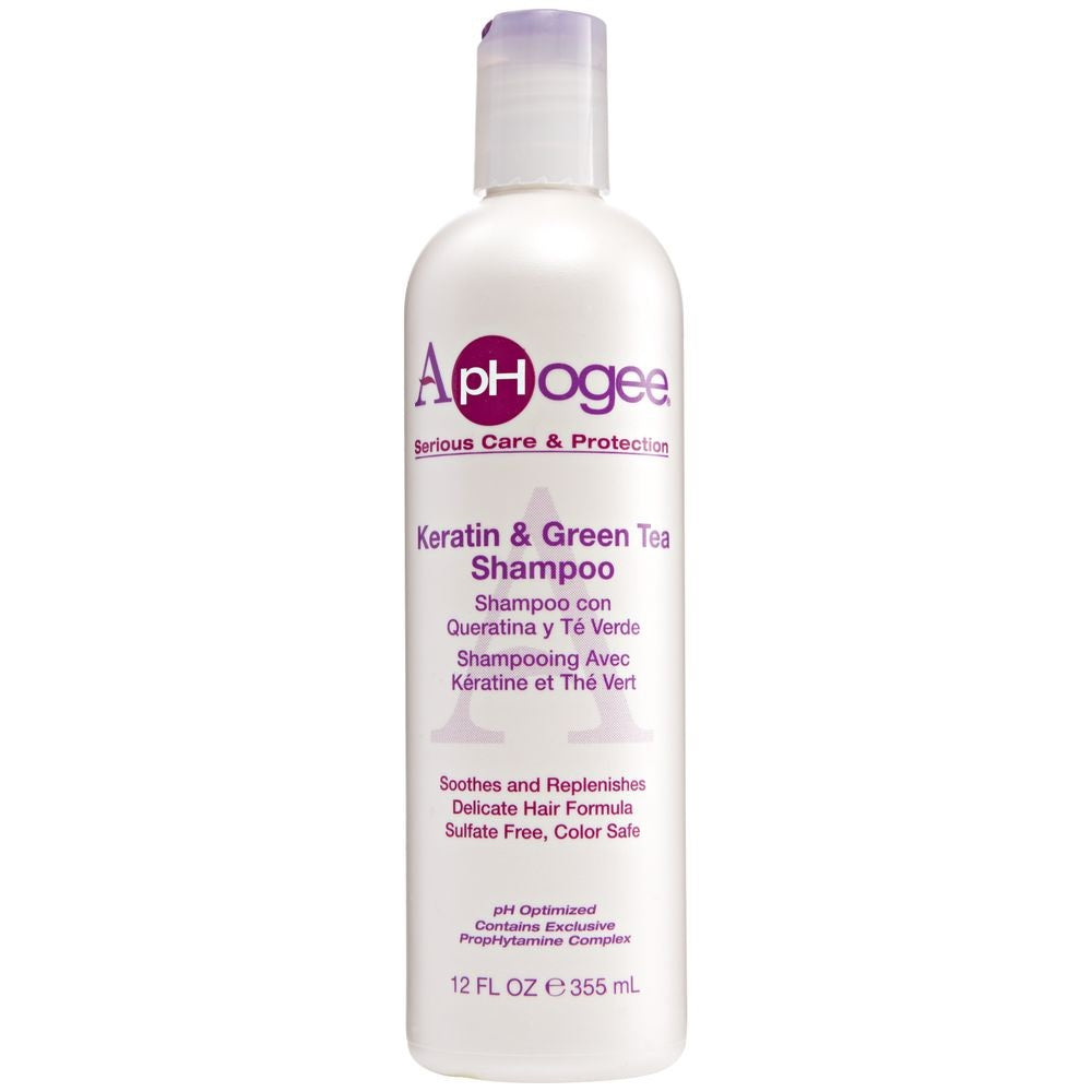 ApHogee Keratin & Green Tea Shampoo 12oz HP-13540