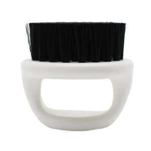 WHITE Babyliss Pro Barberology Fade Knuckle Brush SOFT Bristles HT-ND41272