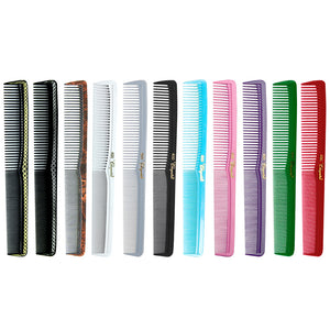 "KREST Cleopatra #400 7"" All Purpose Styling Comb 12 Pack"