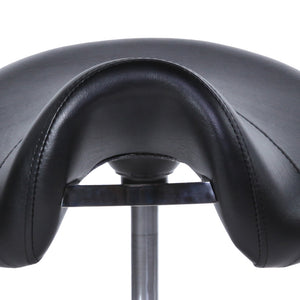 Saddle Stool with Handle ST-01BLK