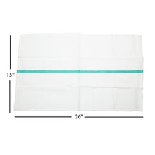 Load image into Gallery viewer, PARTEX Barber Shaving Towel with Green Strip TL-04021