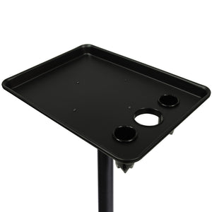 Aluminum Service Tray with Appliance Holders TY-22BLK