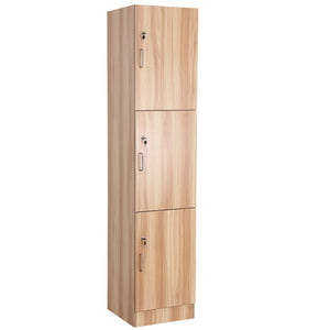 """RYDER"" Towel Cabinet w Locks PEARWOOD WS-06P"