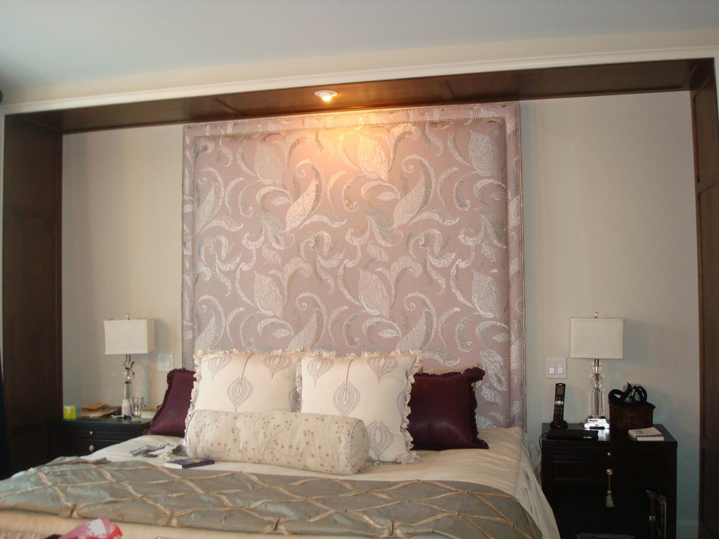 Headboard & Bedding - Curtain Couture & Kelly Stevenson Interiors