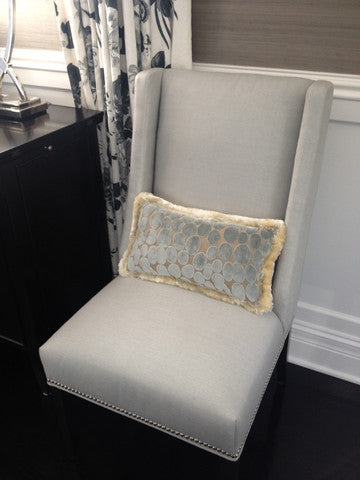Chair, Pillow - Curtain Couture & Kravet Furniture
