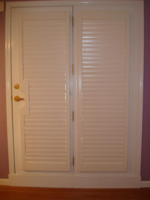 Door Shutter Panels - Norman Shutters