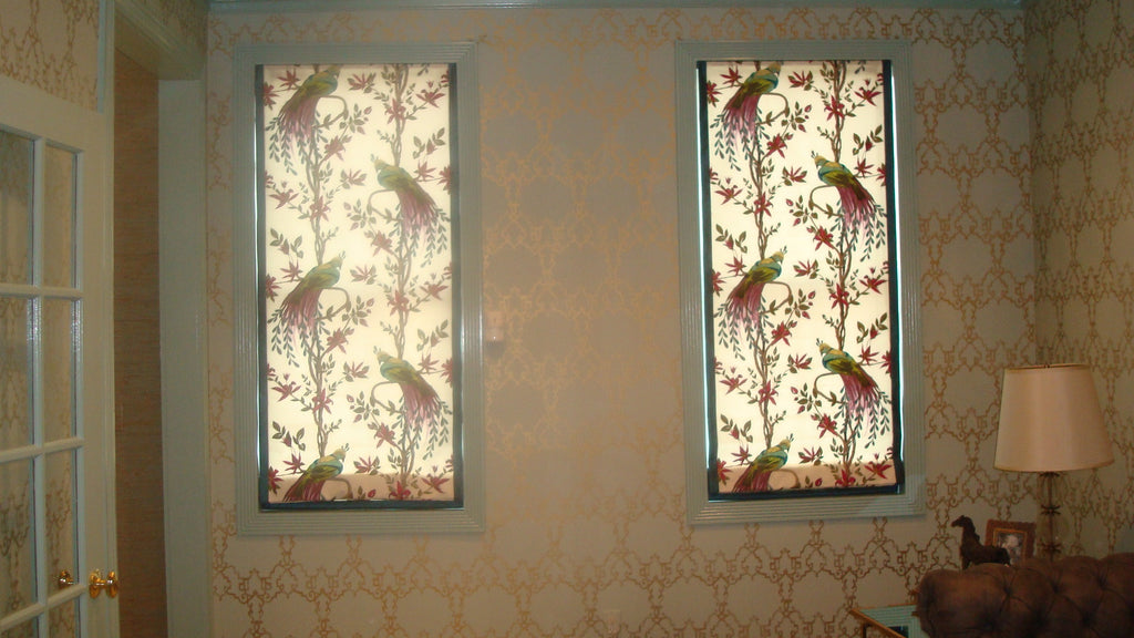 Flat Fabric Roman Shade - Curtain Couture & DM Design Solutions