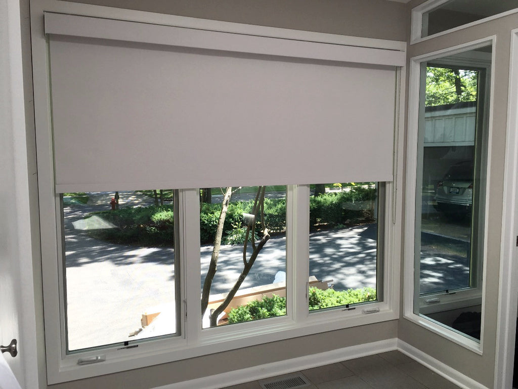 Roller Shade with Square Fascia from HunterDouglas
