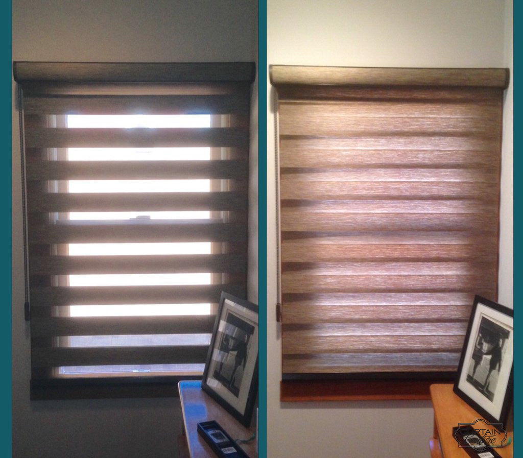 Allure Shades from Lafayette / installed by Curtain Couture