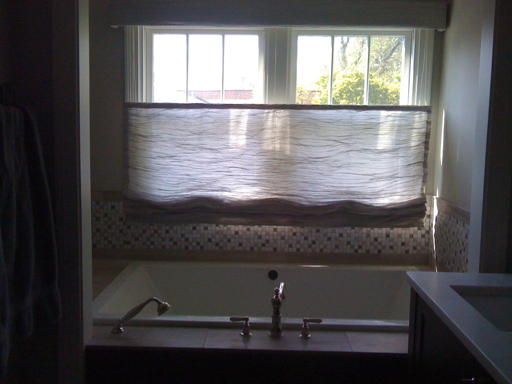 Top Down Bottom Up Roman Shade - Curtain Couture & Lisa Wolfe Design
