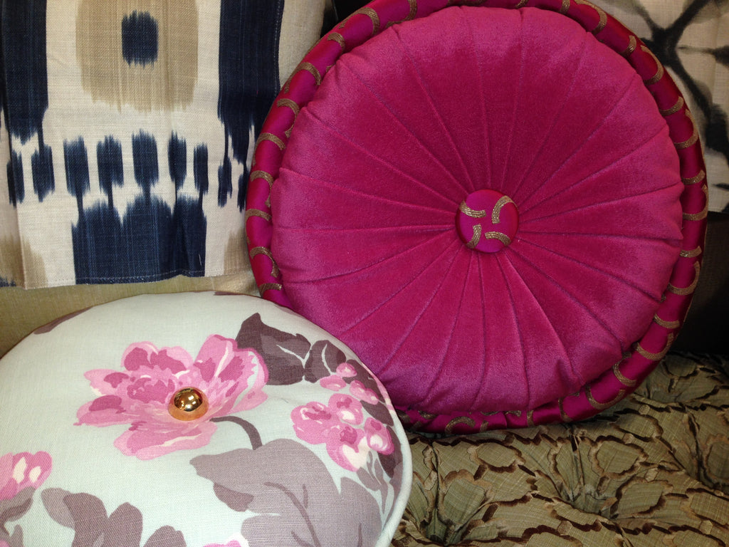 Round Pillows - Curtain Couture