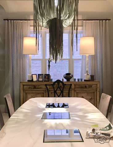 Beautiful Sheer Panels by Peroutka Home Designs & Curtain Couture