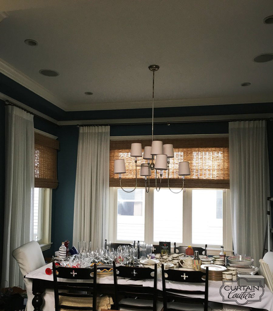 Woven  Wood Shades and Drapery